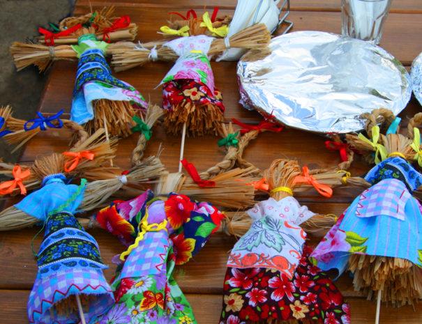 Куклы из лыка